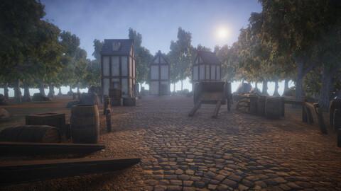 Medieval Village Asset Pack