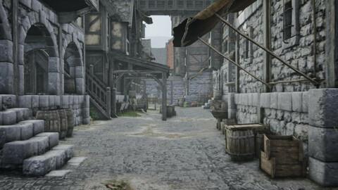 Unreal Engine Medieval Fantasy Megapack