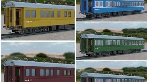 Steam Passengers Car