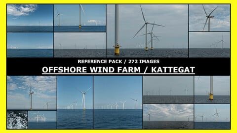 OFFSHORE WIND FARM / Photo Reference / 272 images