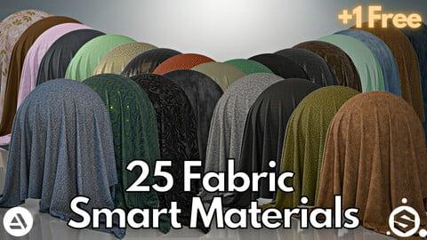25 fabric smart material + 1 free #Vol.3