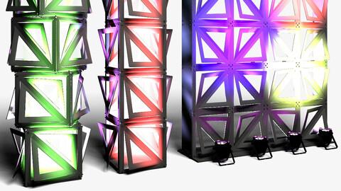 Stage Decor 20 - Modular Wall Column