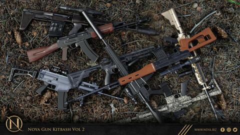 NOYA 50 Gun Kitbash Vol 2