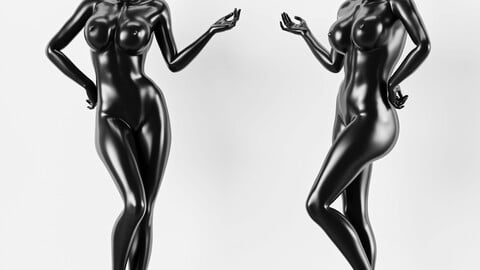 Female standing Pose Mannequin