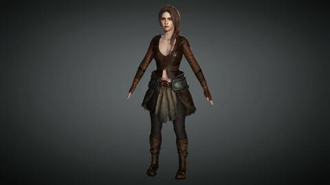 Fantasy Female Character 05