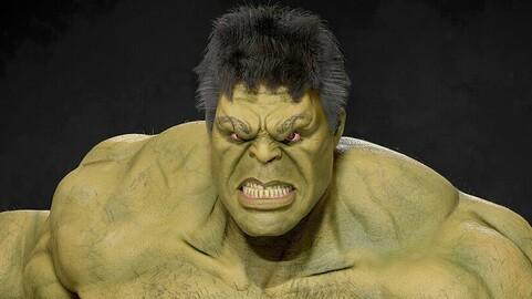 Hulk base mesh