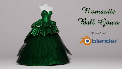 Celtic Ball Gown