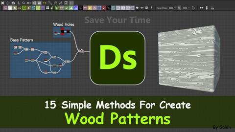 15 Simple Methods to Create Wood Patterns _ Substance 3D Desginer