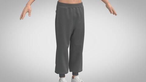 Basic Sweatpants, Marvelous Designer, Clo3D
