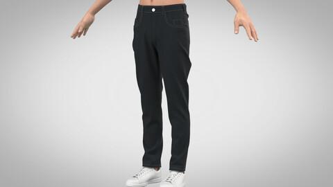 Basic Jeans, Marvelous Designer, Clo3D