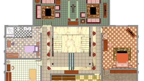 2D Floor Plan Rendering