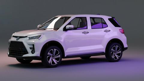 Toyota Raize with interior 3D model