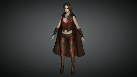 Fantasy Female Character 06