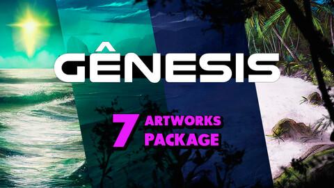 Genesis (7 Artworks Package)