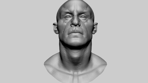 Creature Head Basemesh