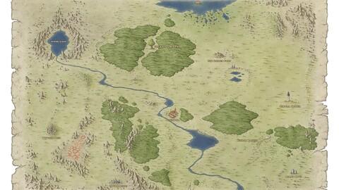 Regional map