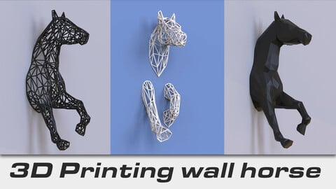 Wall Horse