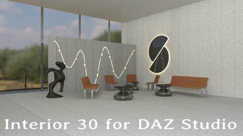 Interior 30 (Entry Hall) for DAZ Studio