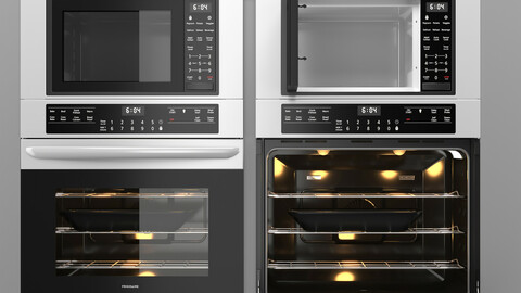Frigidaire Aappliance Microwave And Oven