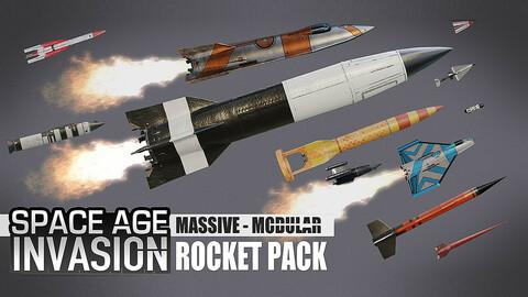 Space Age Invasion: Massive Modular Rocket Pack