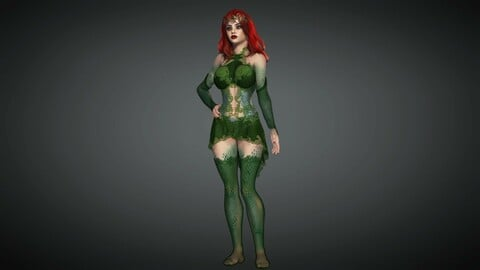 Comics Character 04 (Poison Ivy)