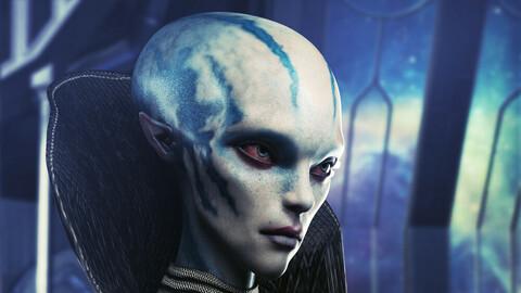 Nenana Alien HD for Genesis 8 Female