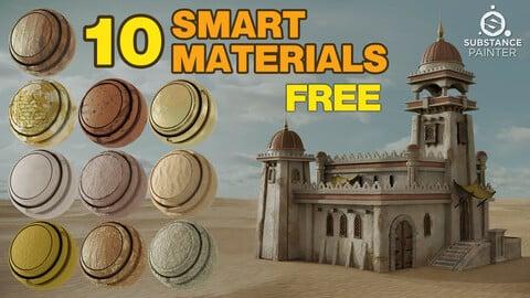 10 Smart Materials - Substance Painter