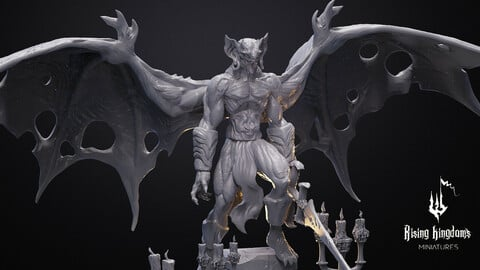 Vampire Master candles (STL file for 3D printing)