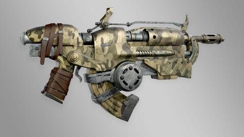 WEAPON 3D MODEL GUN