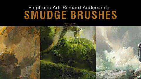 Flaptraps Art Smudge Brushes