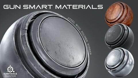 Gun Smart Materials