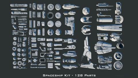 Spaceship Kitbash Kit