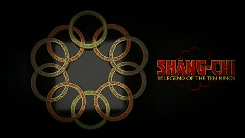 Marvel Shang Chi Ten Rings Asset
