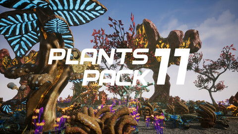 Plants Pack 11 for UE4
