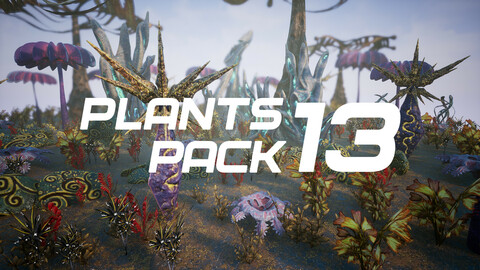 Plants Pack 13 for UE4