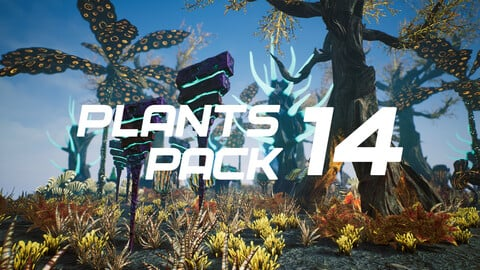 Plants Pack 14 for UE4