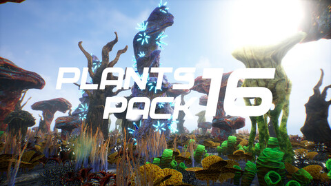 Plants Pack 16 for UE4