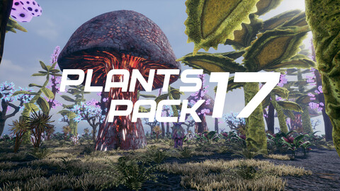 Plants Pack 17 for UE4