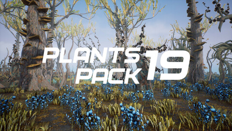 Plants Pack 19 for UE4
