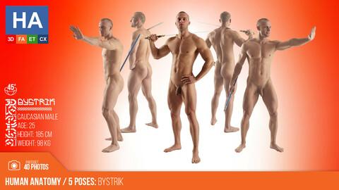 Human Anatomy | Bystrik 5 Various Poses | 40 Photos | #2