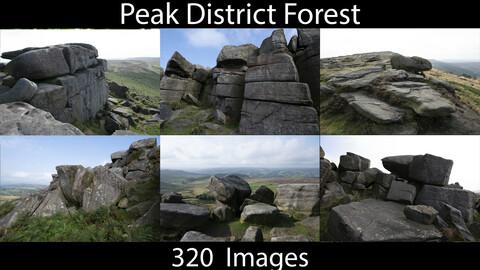 PhotoRef - Peak District Rocks