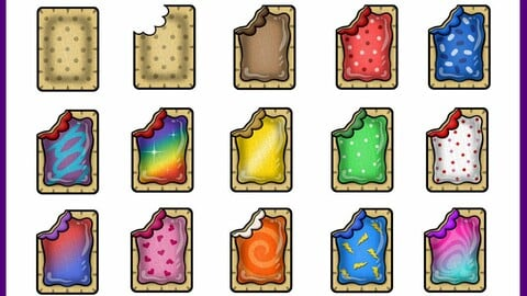 Twitch Sub Badges: Toaster Pastries