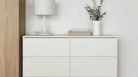 onion lime wide chest of drawers