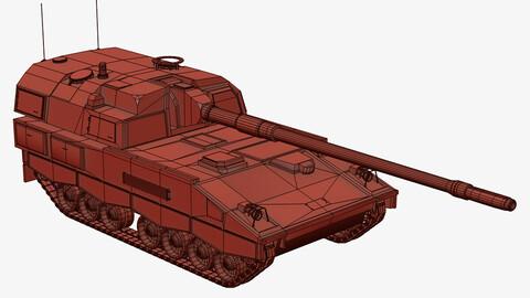 Howitzer Tank Panzerhaubitze 2000