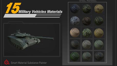 Military Vehicles Materials