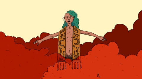 Red Sand Sorceress