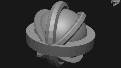 Basic Shape Curvers IMM Brush - For Zbrush 2021.7 - FREE