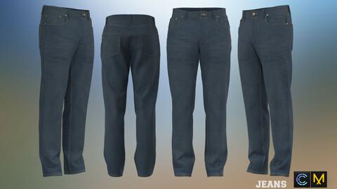 Jeans, marvelous designer,clo3d