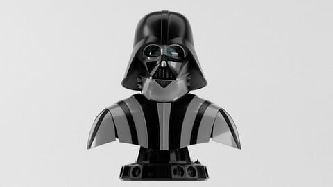 Darth Vader ep6 Helmet Reveal for 3d print 3D print model