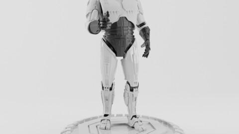 ROBOCOP STATUE FOR 3D PRINTING 3D print model